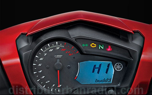 speedometer yamaha mx king